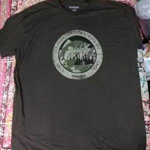 Wrangler 2xl t-shirt